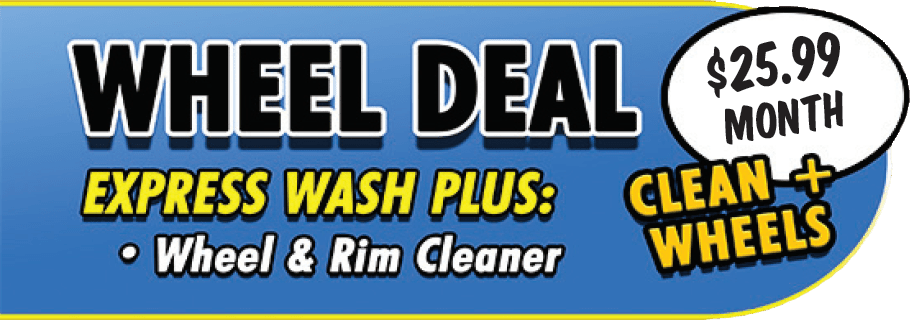Wheel Deal - Express Plus More - 25.99 monthly